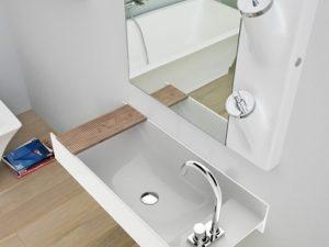 Vasque en Livingtec Blanc