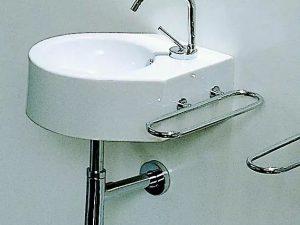 Lavabo Modula Mini Angul. Blanc